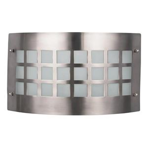 Canarm Ltd FRANKLIN 11.75-in x 7-in x 3.75-in Brushed Pewter Wall light