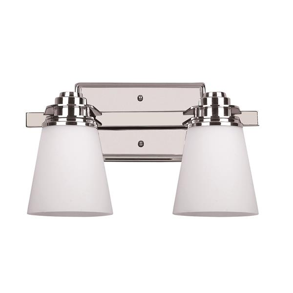 Canarm Ltd Chatham Chrome 2 Light Bathroom Vanity Light