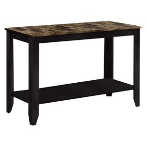Monarch 44-in x 28.75-in Brown Composite Accent Table