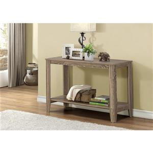 Monarch 44-in x 28-in Brown Composite Accent Table