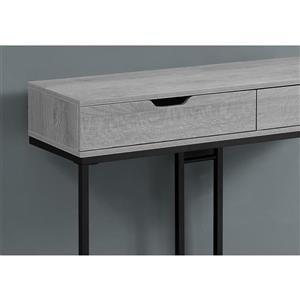 Monarch 41.75-in x 32-in Gray Composite Accent Table