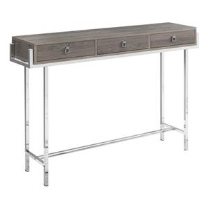Monarch 48-in x 31.75-in Brown Composite Accent Table