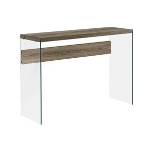 Monarch 44-in x 32-in Brown Composite Accent Table