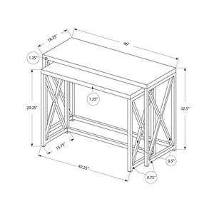 Monarch 46-in x 32.5-in White Accent Table (Set of 2)