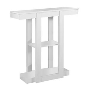 Monarch 31.5-in x 34-in Composite White Accent Table