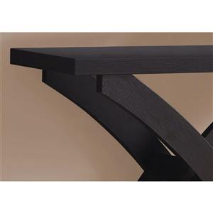 Monarch 31.25-in Composite Brown Accent Table