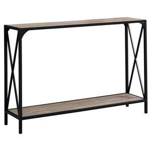Monarch 48-in x 32-in Brown Composite Accent Table