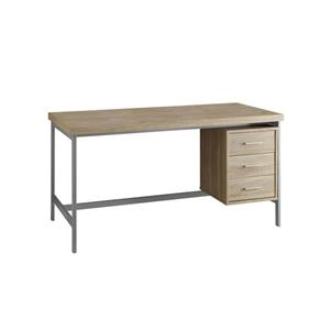 Monarch  60-in x 31-in Natural Reclaimed Office Desk