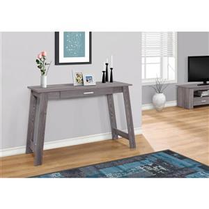 Monarch 42.00-in x 29.25-in Grey wood-look Computer Desk