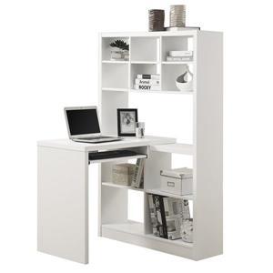 Monarch 35.50-In x 60.00-In White Computer Desk