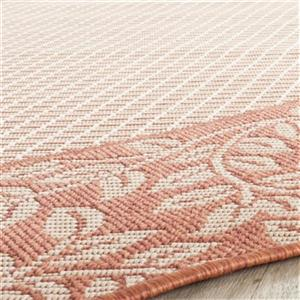 Safavieh CY0727-3201 Courtyard Indoor/Outdoor Area Rug, Natu