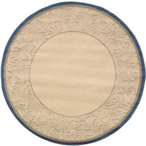 Safavieh CY2666-3101 Courtyard Indoor/Outdoor Area Rug, Beig