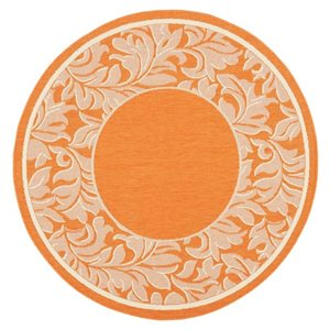 Safavieh CY2666-3202 Courtyard Indoor/Outdoor Area Rug, Red,