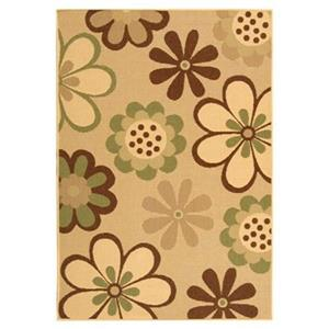 Safavieh CY4035A Courtyard Area Rug, Natural Brown / Olive,C