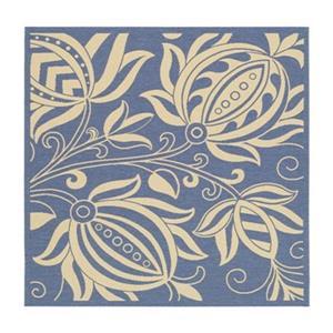 Safavieh CY2961-3103 Courtyard Indoor/Outdoor Area Rug, Blue