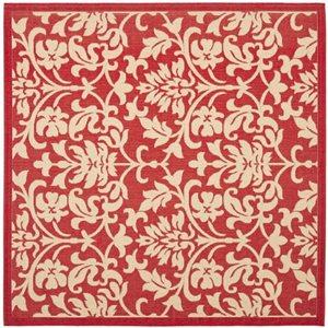 Safavieh CY3416-3707 Courtyard Indoor/Outdoor Area Rug, Red,