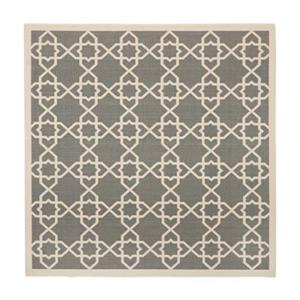 Safavieh CY6032-246 Courtyard Indoor/Outdoor Area Rug, Grey/