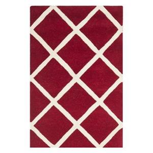 Chatham Red and Ivory Area Rug