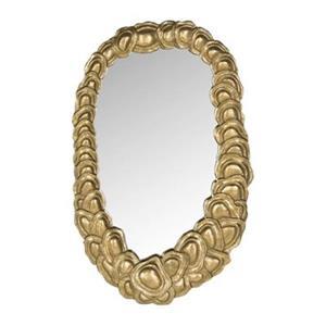Safavieh Garland 23.80-in x 14.80-in Antique Gold Mirror