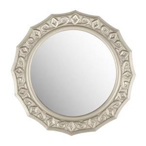 Safavieh Gossamer 25-in x 25-in Pewter Lace Mirror
