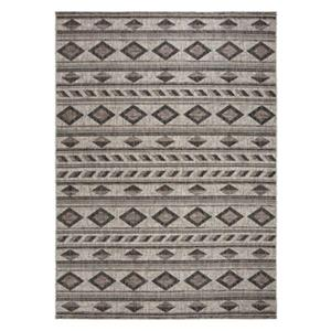 Safavieh Grey and Black Courtyard Indoor/Outdoor Rug,CY8529-