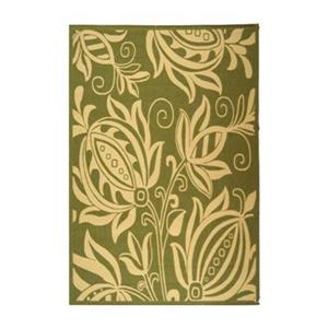 Safavieh CY2961-1E06 Courtyard Area Rug, Olive / Natural,CY2