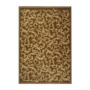 Safavieh CY2653-3009 Courtyard Indoor/Outdoor Area Rug, Brow