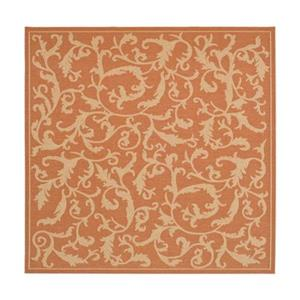 Safavieh Courtyard Indoor/Outdoor Area Rug,CY2653-3202-8SQ