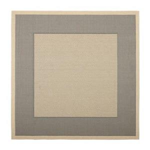 Safavieh Courtyard Indoor/Outdoor 7-ft x 10-ft Grey and Cream Area Rug