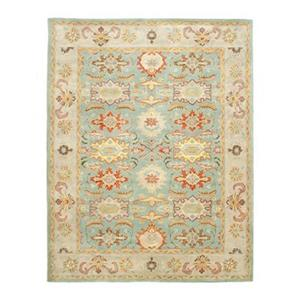 Heritage Light Blue and Ivory Area Rug