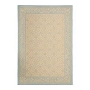 Safavieh Courtyard Indoor/Outdoor 7-ft x 10-ft Cream Area Rug