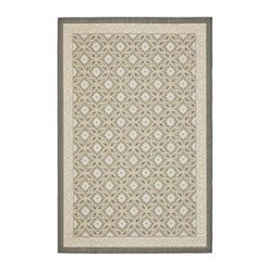 Safavieh Courtyard 7 ft x 10 ft Gray Indoor/Outdoor Area Rug