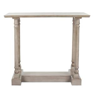 Safavieh Regan Rectangular Vintage Grey Wood Console Table