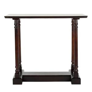 Safavieh Regan Rectangular Dark Cherry Wood Console Table