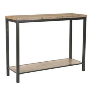 Safavieh Dennis Rectangular Brown Elm Wood Console Table