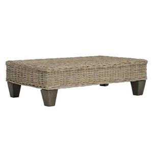 Safavieh Leary 39.37-in Unfinished Wicker Bench