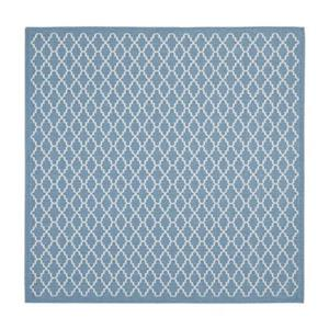 Safavieh Courtyard Indoor/Outdoor Blue Square Area Rug