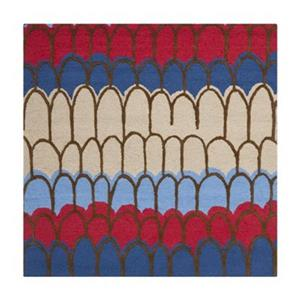 Blue and Multi-Colored Kids Area Rug