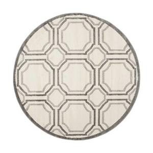 Safavieh Amherst 7 ft x 7 ft Ivory and Light Grey Area Rug
