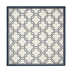 Amherst Ivory and Navy Area Rug