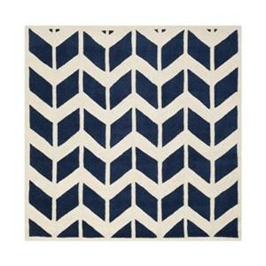 Chatham Dark Blue and Ivory Area Rug