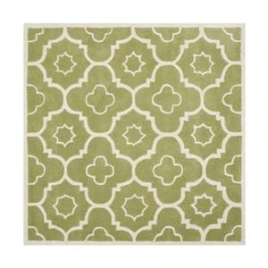 Chatham Green and Ivory Area Rug