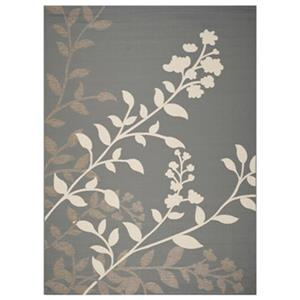 Safavieh Courtyard 7 ft x 10 ft Anthracite and Beige Area Rug