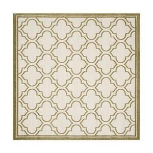Amherst Ivory and Light Green Area Rug
