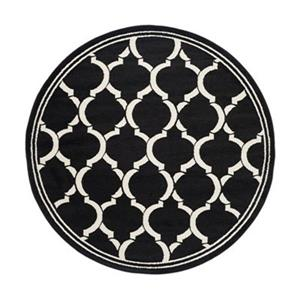 Safavieh Amherst 7 ft x 7 ft Anthracite and Ivory Area Rug