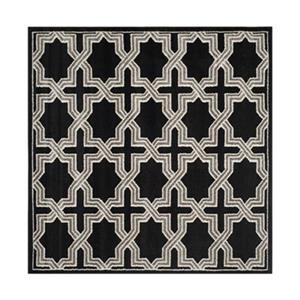 Safavieh Amherst  7 ft x 7 ft Anthracite and Grey Area Rug