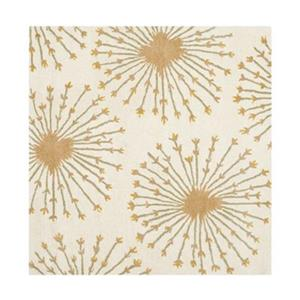 Bella Beige and Gold Area Rug