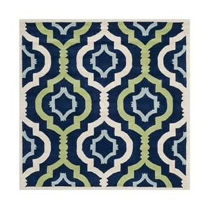 Chatham Dark Blue and Multi-Colored Area Rug