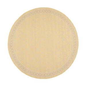 Safavieh Courtyard 7 ft x 10 ft Yellow and Beige Area Rug