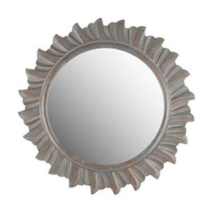 Safavieh By-The-Sea 29-in x 29-in Grey Mirror